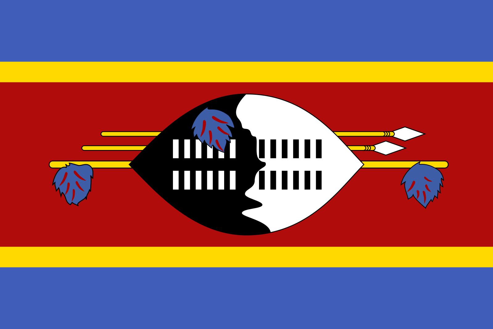 Flagge Eswatini