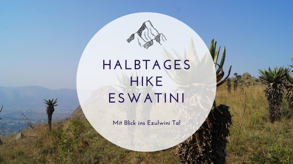 Halbtages Hike mit Safarihike mit Blick ins Ezulwini Tal