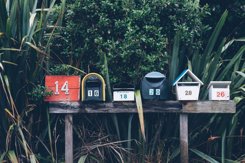 Kontakt Postbox Briefkasten