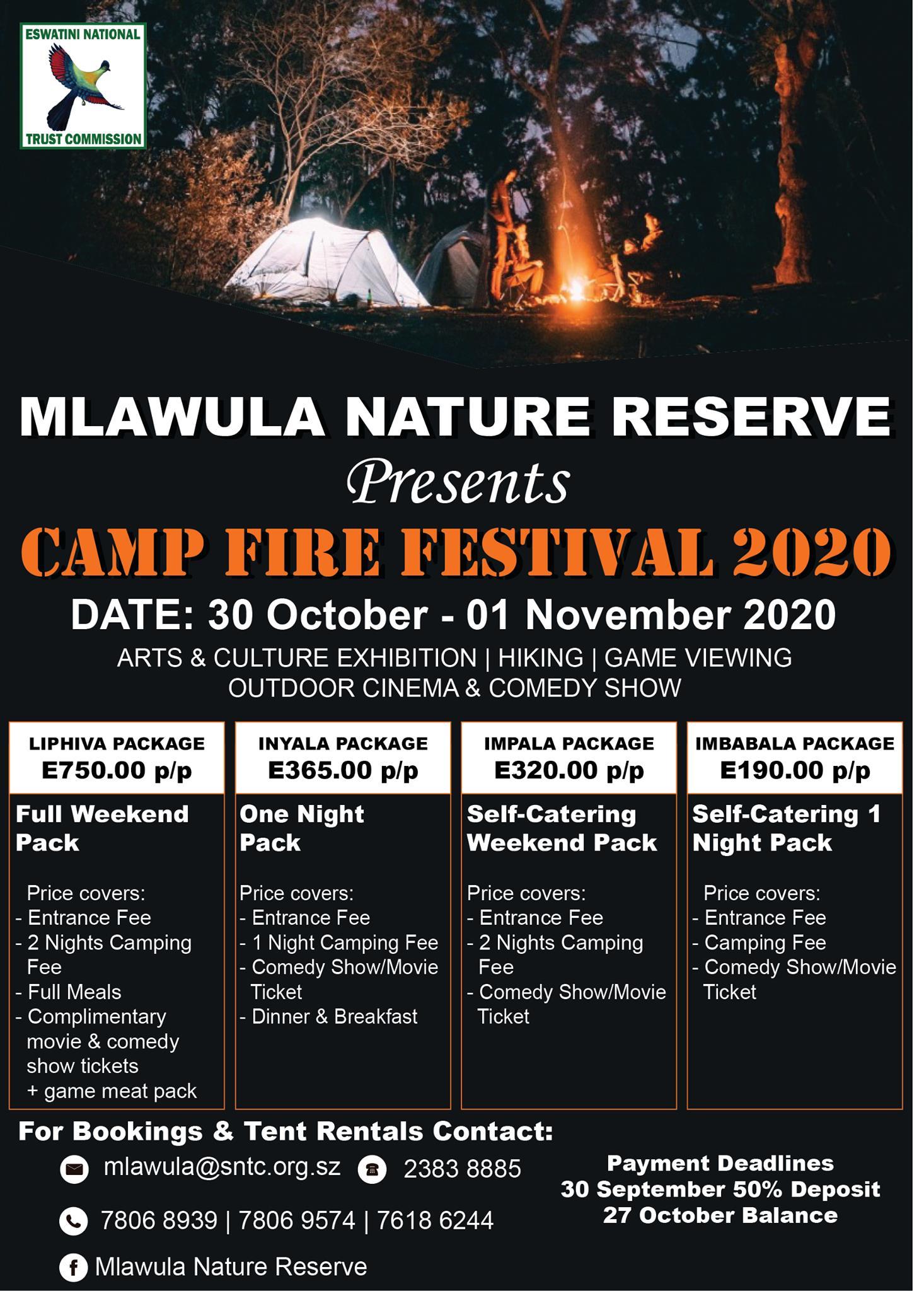 Camp Fire Festival 2020