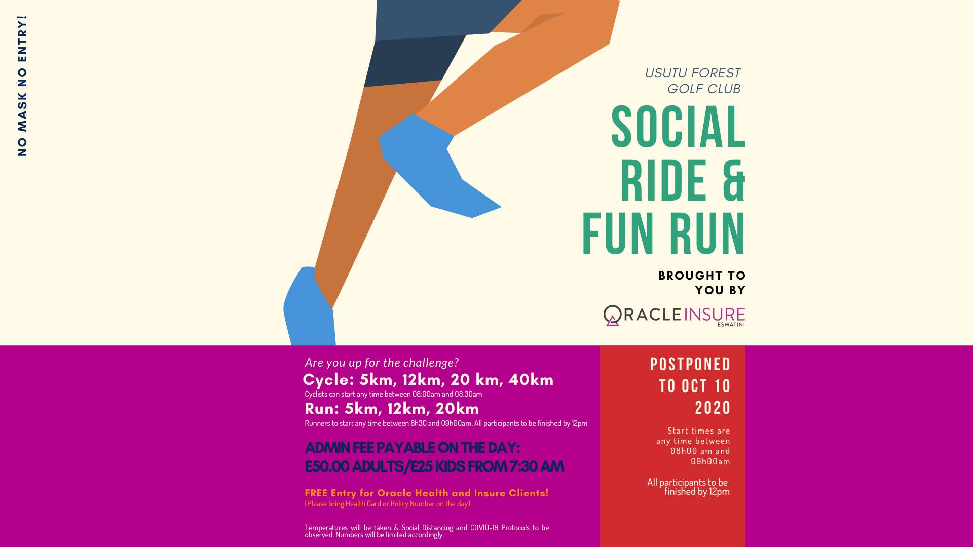 Usutu Forest Golf Club Social Ride & Fun Run
