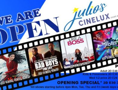 Spitzen Nachricht für Filmenthusiasten in Eswatini: brandneues Kino Julio's Cinelux lüftet seinen Vorhang in Manzini im Dezember 2020